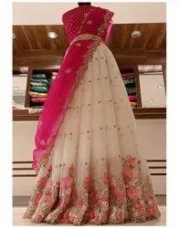 half saree sets