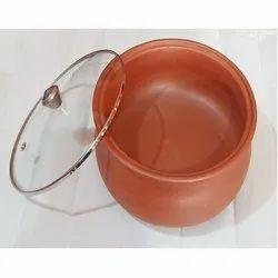 Reuseble Handi with Glass lid 2.5 liter