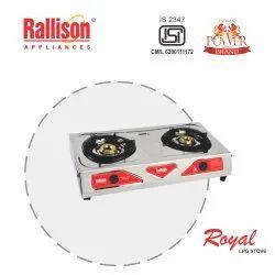 Stainless Steel Rallison Royal Lpg 2B Gas Stove