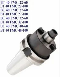 Polished STEEL FMC - Collet Chuck Adapters For Indusrial, Bt 40