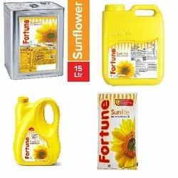Mono Saturated Vitamin A Fortune Sunlight Refined Sunflower Oil, Packaging Type: Plastic Bottle, Packaging Size: 1 litre
