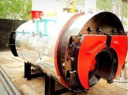Gas Fired 2800 Kg/hr Steam Boiler, IBR Approved