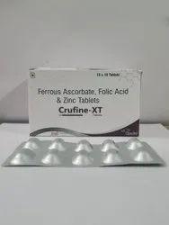Ferrous Ascorbate 100 Mg + Elemental Iron 1.5+ Zinc Sulphate Monohydrate 22.5