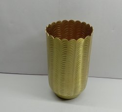 Gold Plated Flower Vase