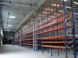 12 Feet Paint Coated MS Pallet Rack, For Warehouse