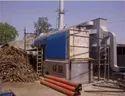 Wood Fired 1000 kg/hr Steam Boiler, IBR Approved