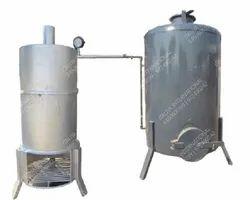Wood Fired 200 KG/HR Steam Boiler, Non-IBR