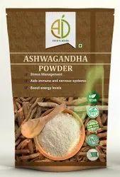 A D Food & Herbs Organic Ashwagandha / Withania Somnifera /