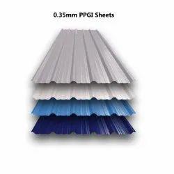 0.35mm PPGI Sheets