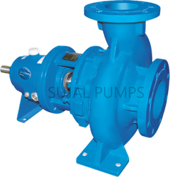Salt slurry centrifugal pump
