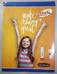 Paper Deepa Student Note Book, For Writting