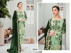 BH Fox Georgette Unstitched Pakistani Suits