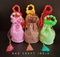 Lucknowi Chikan Potli Bag (PB202108)