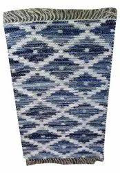 For Home Cotton Handloom Floor Carpet