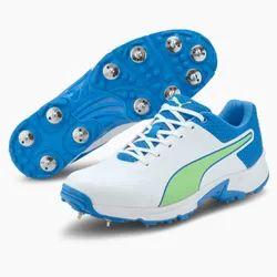 White Puma 19.2 Spike Shoes