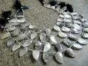 Natural Black Rutilated Quartz Mango Shape Briolette Beads 10x20mm Sold Per Strand 10 Inches Long