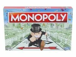 Monopoly Board Game (Multicolor) For Families And Kids
