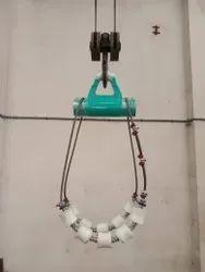 Pipe Lowering Roller Cradle