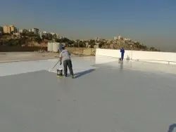 PU Roof Waterproof Coating Service, For Industrial And Commercial, Liquid