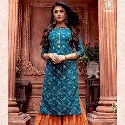 Thread Work Designer Stylish Sarara Suit