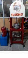JDI Single Die Semi Automatic Hydraulic Plate Making Machine