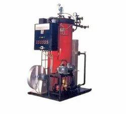 Oil & Gas Fired 200 Kg/hr Steam Boiler, Non IBR