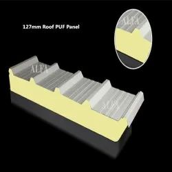 127mm Sandwich Insulated Roof PUF Panel
