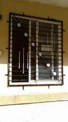 Paint Coated Rectangular Mild Steel  Window Grill
