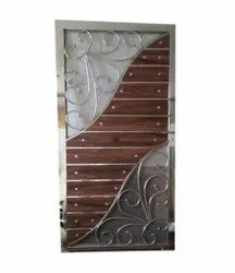 Stainless Steel Security Door, For Residential