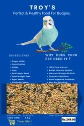 Budgies Seed, Packaging Type: Packet, Packaging Size: 1 Killogram