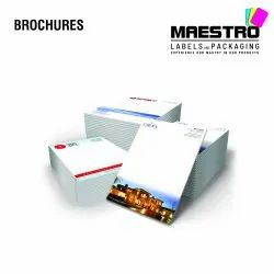Multicolor Paper & Boards Brochure Printing Services, in Pan India