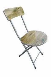 Folding Baby Chair ,Wooden Top,Green Leaves