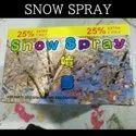 White Snow Snow Spray