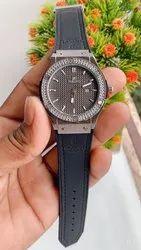 BLACK,BROWN Hublot Automatic Watch
