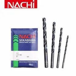Standard HSS Nachi Parallel Shank Drills, For Industrial, Size: 3-17mm