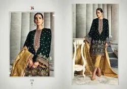 Heavy Embroidered Pakistani Suit