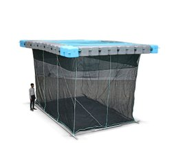 Fish Cages With Pontoons