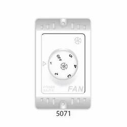 AIRFIT White FAN REGULATOERS SURFACE 5 STEP, For Home