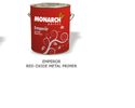 Monarch Paints Emperor Red Oxide Metal Primer 10 ltr