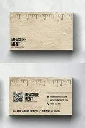 Pattern Printing Paper Professional Business Card, in Mumbai