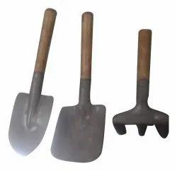 For Gardening Black Iron Garden Tools Set