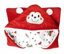 BABYZONE Velvet Printed Baby Blanket, 0-1 Year, Size: 27*27