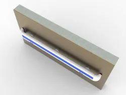 Railing Blue And White Pvc Hospital Handrail, For Hospitals