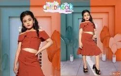 Girl Kids Fancy Skirt Tops