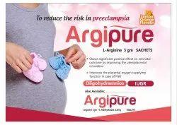 Argipure Tab- Arginine 1gm   Methylfolate 0.5 Mg
