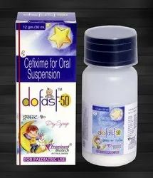Cefixime Oral Suspension Syrup 50 mg