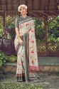 Woman Muslin  Digital Print Saree