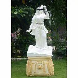 God Of Law (Insaff Ki Devi) With Golden Stool