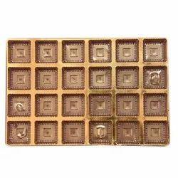 Cardboard Rectangle Chocolate Box, For Food
