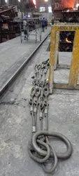adjustable wire rope multi leg sling